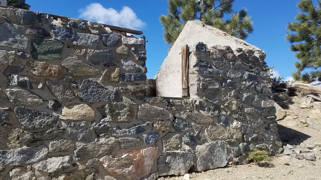 The rock cabin